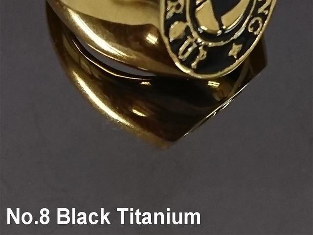 No.8 Black Titanium